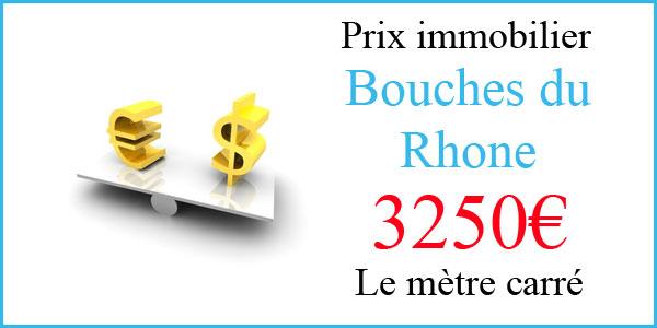 Le prix de l'immobilier dans les Bouches du Rhône