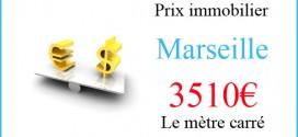 Le prix du m2 à Marseille